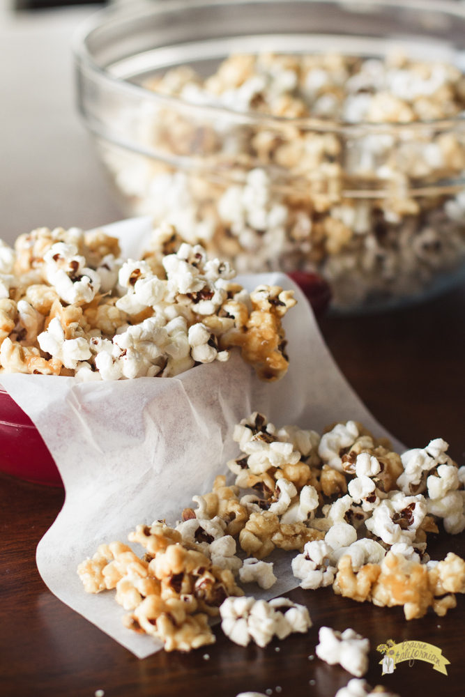 Salted Caramel and White Cheddar Popcorn featuring Pilot ...