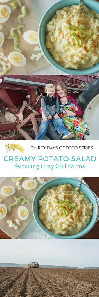 Creamy Potato Salad featuring Gray Girl Farms - Prairie Californian