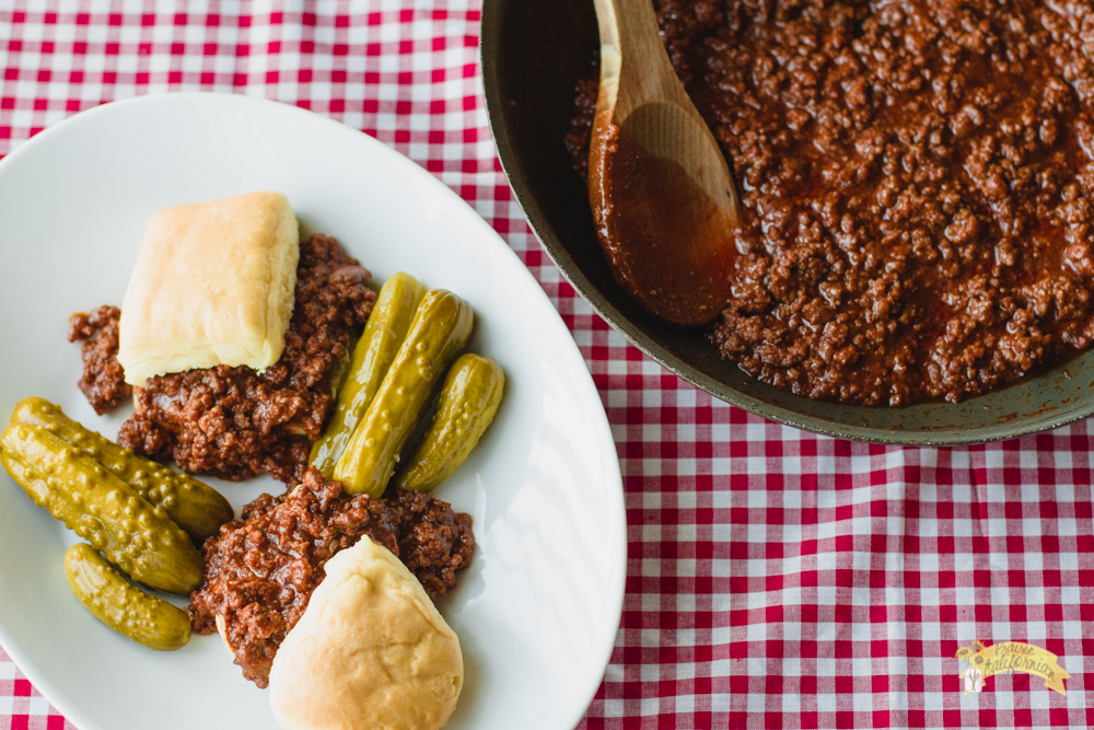 Grandma's Sloppy Joes featuring Kellie For Ag