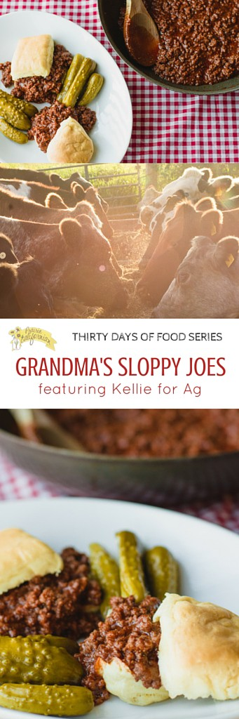 Grandma's Sloppy Joes featuring Kellie for Ag - Prairie Californian