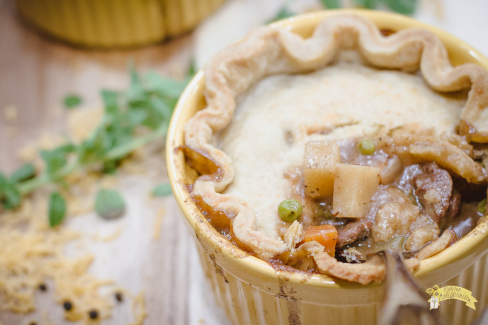Beef Pot Pies featuring Trista of Cattle Empire