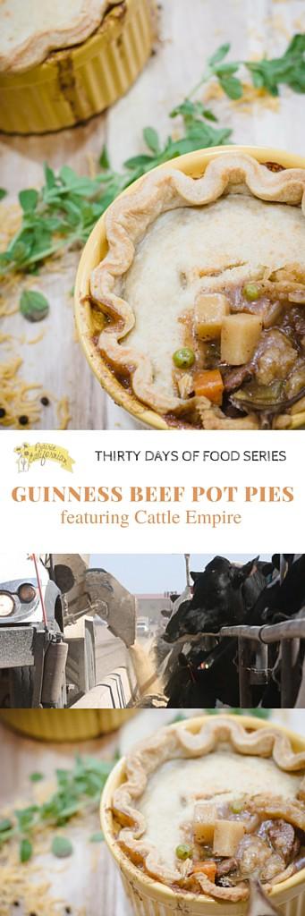 Guinness Beef Pot Pies featuring Cattle Empire - Prairie Californian