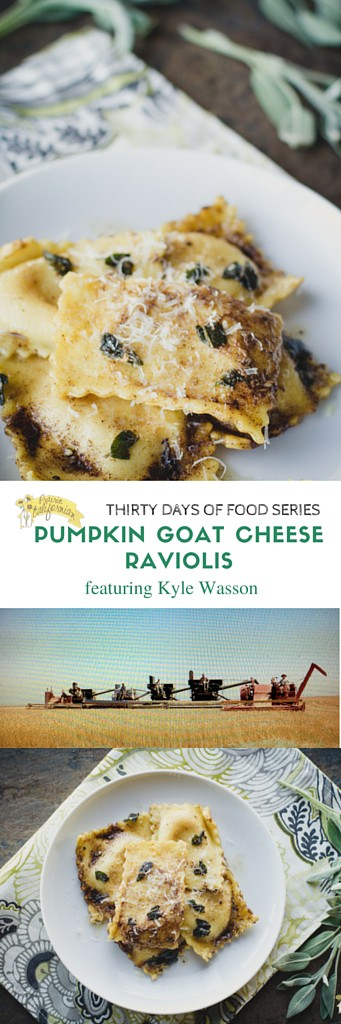 Pumpkin Goat Cheese Raviolis featuring Kyle Wasson - Prairie Californian