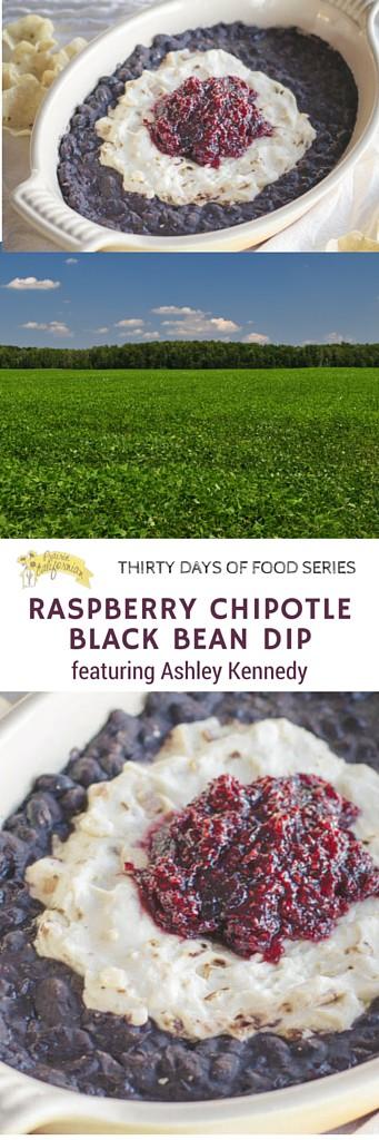 Raspberry Chipotle Black Bean Dip featuring Ashley Kennedy - Prairie Californian