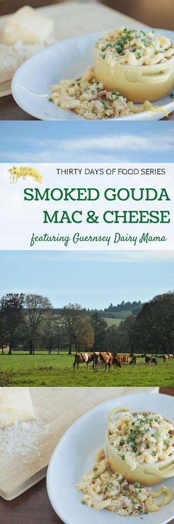Smoked Gouda Mac and Cheese featuring Guernsey Dairy Mama - Prairie Californian