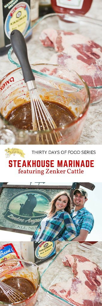 Steakhouse Marinade featuring Zenker Cattle - Prairie Californian