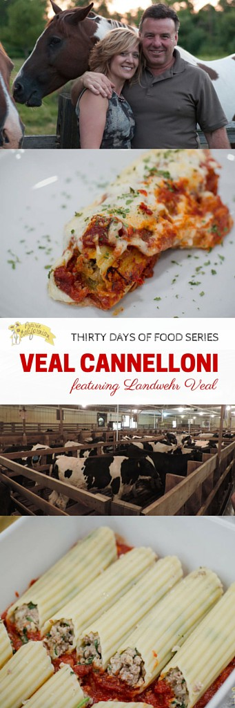 Veal Cannelloni featuring Landwehr Veal - Prairie Californian