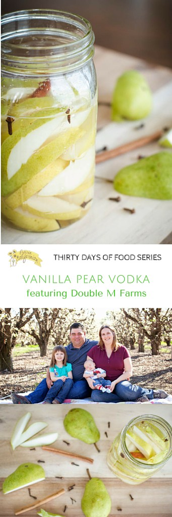 Vanilla Pear Vodka featuring Double M Farms - Prairie Californian