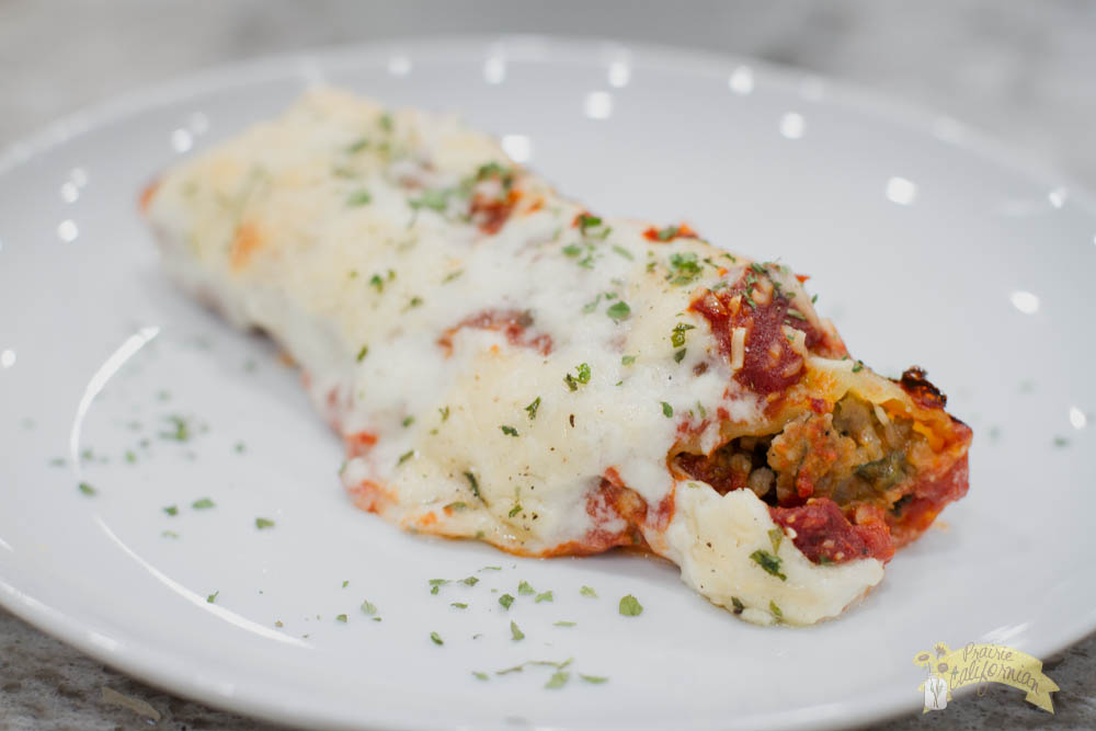 Veal Cannelloni featuring Landwehr Veal