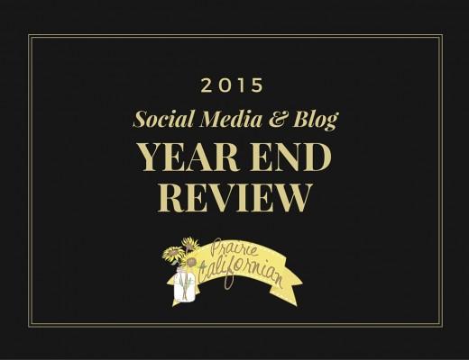 2015 Social Media & Blog Year End Review - Prairie Californian