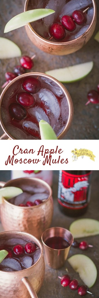 Cran Apple Moscow Mules - Prairie Californian