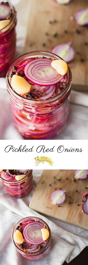 Pickled Red Onions - Prairie Californian