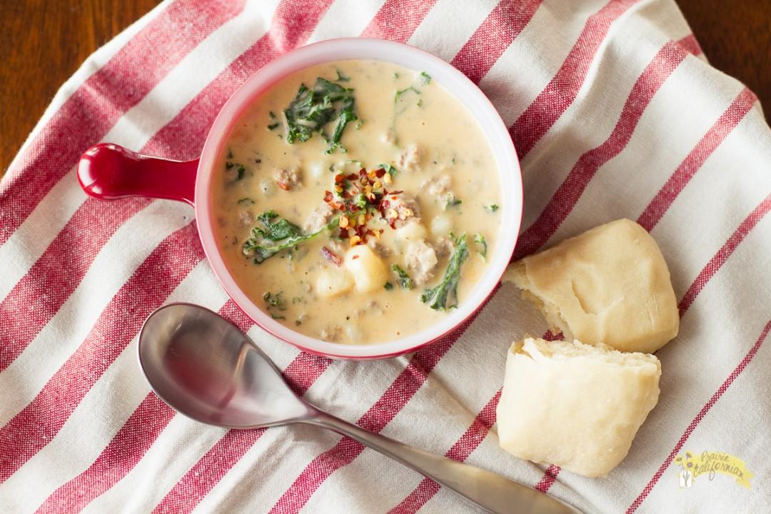 Zuppa Toscana Soup-5