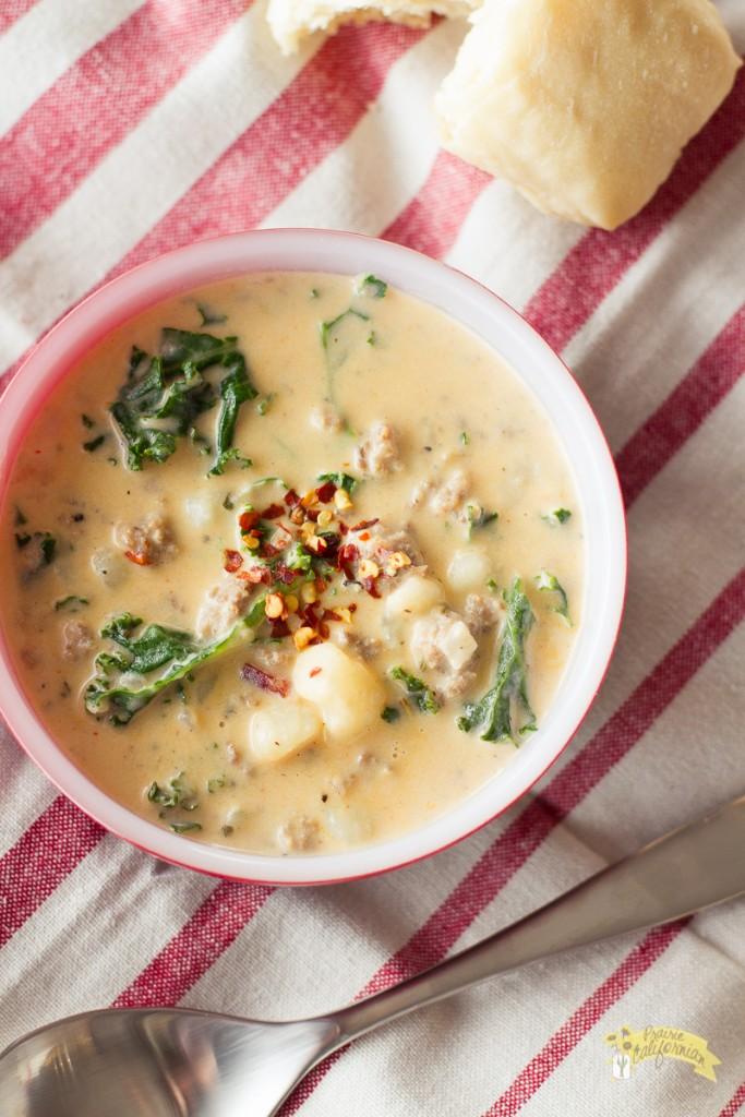 Zuppa Toscana Soup-6