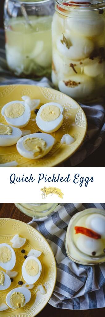 Quick Pickled Eggs - Prairie Californian
