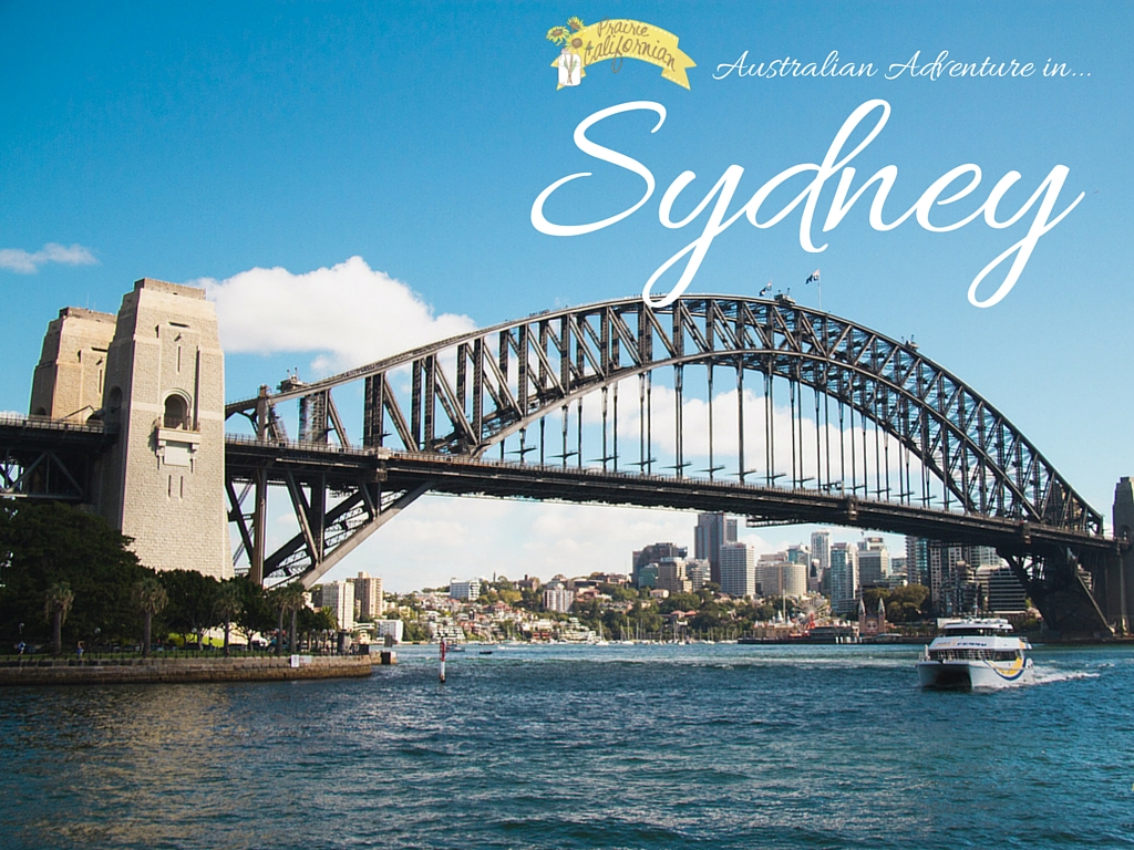 Australian Adventure Sydney - Prairie Californian