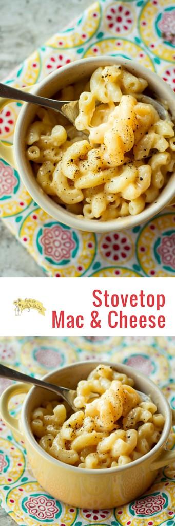 Stovetop Mac & Cheese - Prairie Californian
