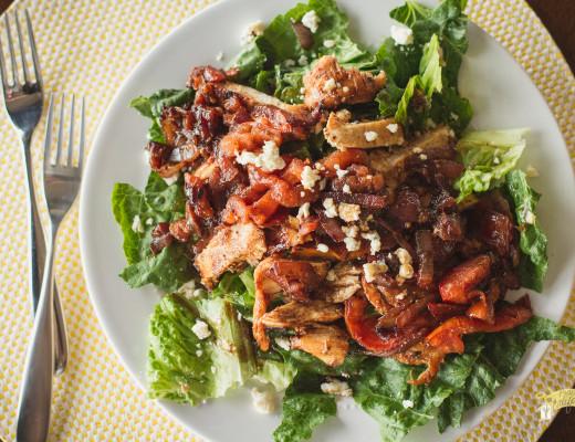 Chicken Bruschetta Salad-1