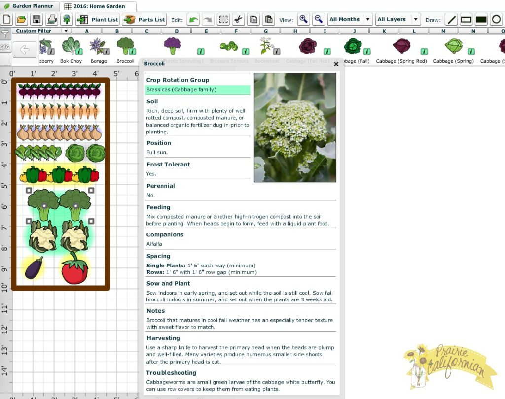 Farmer's Almanac Garden Planner