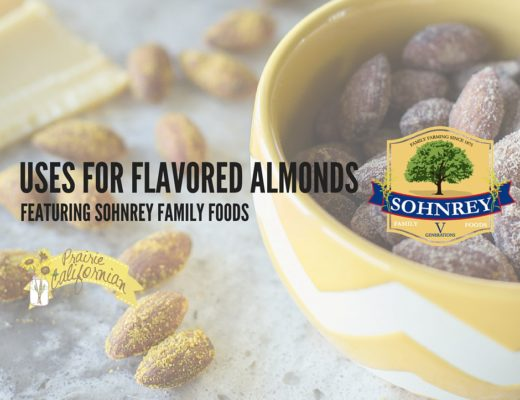 Uses for Flavored Almonds featuring Sohnrey Family Foods