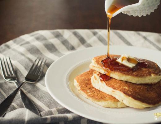 Five Ingredient Buttermilk Pancakes-1