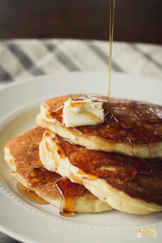 Five Ingredient Buttermilk Pancakes-3