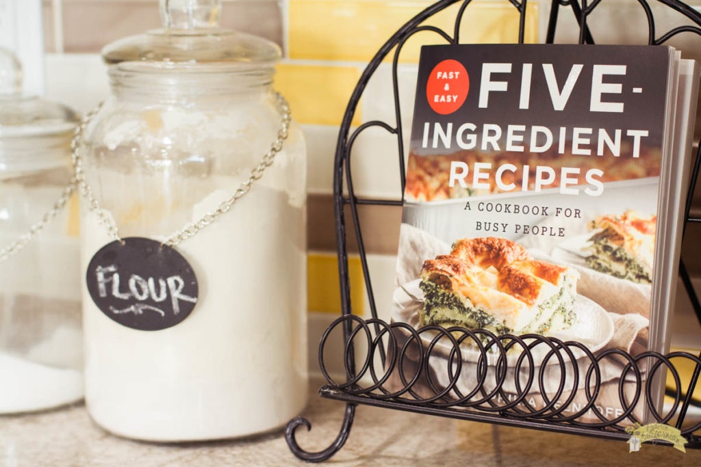Five Ingredient Recipes Cookbook-1
