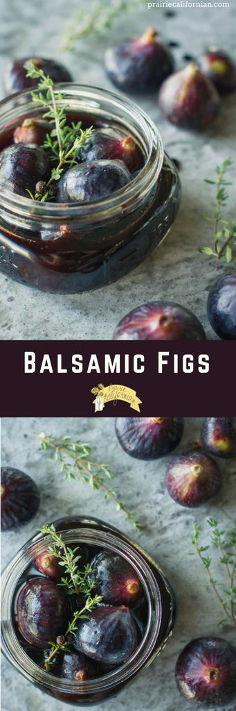 Balsamic Figs - Prairie Californian