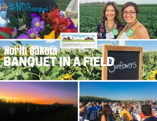 North Dakota Banquet in a Field - Prairie Californian