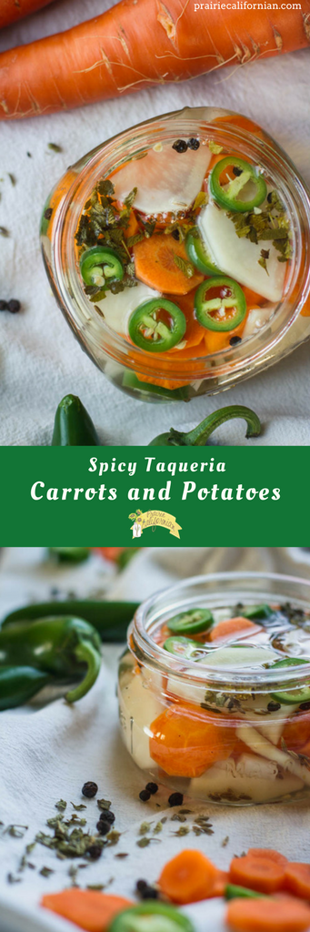 Spicy Taqueria Carrots and Potatoes - Prairie Californian