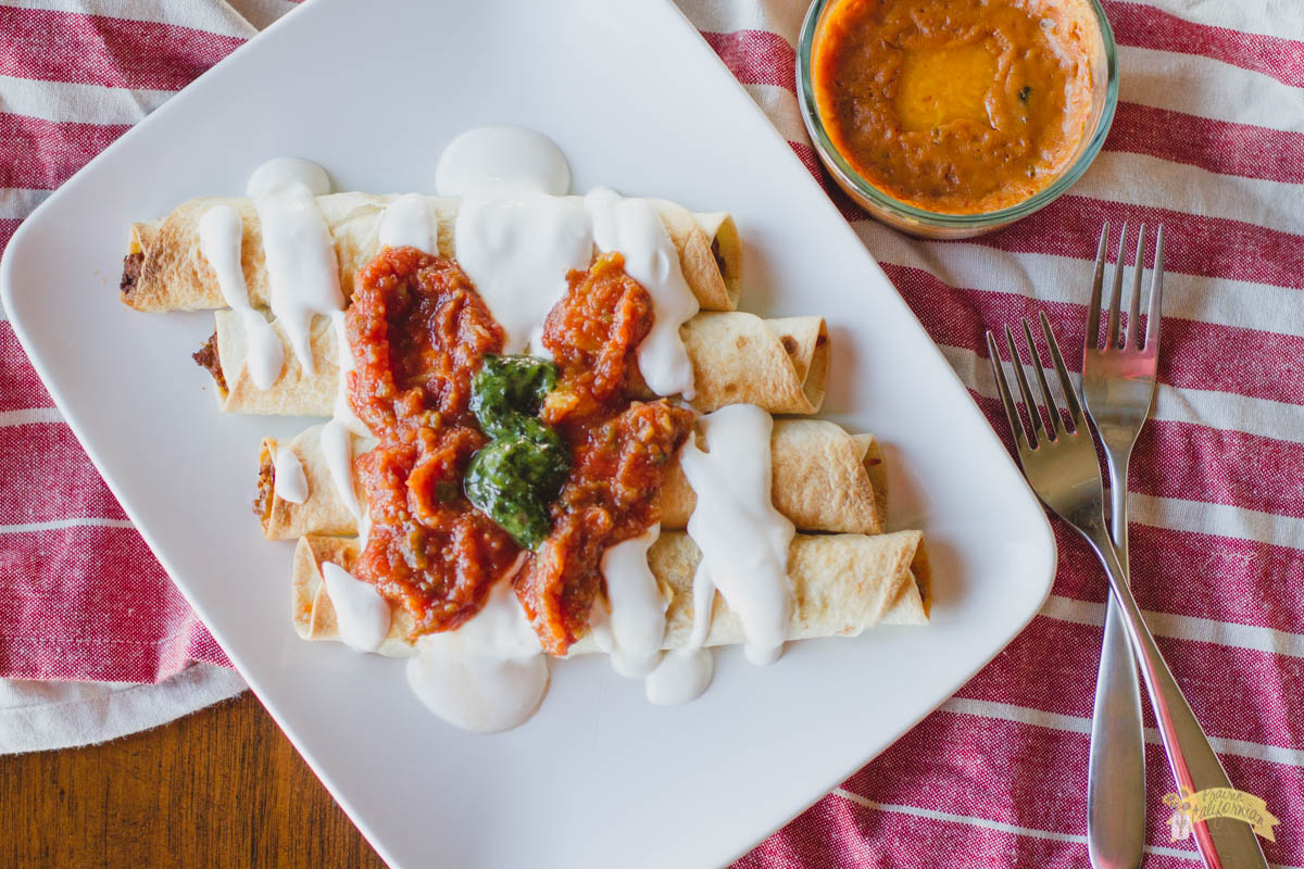 Baked Taquitos with Queso featuring Kent Hanawalt