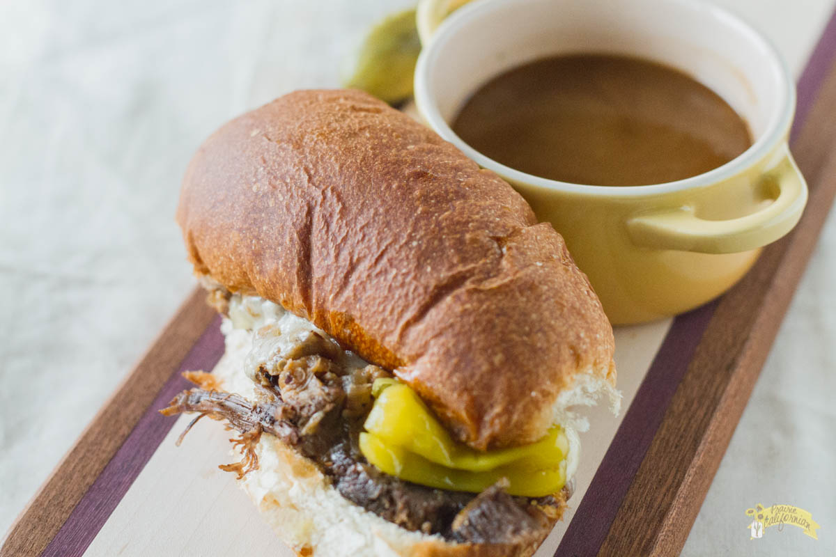 French Dip Sandwiches featuring Katelyn Dynneson