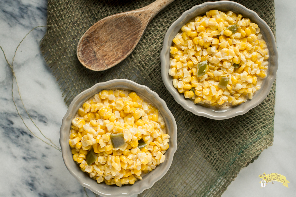 Jalapeno Cream Corn featuring Marybeth Feutz of My Fearless Kitchen