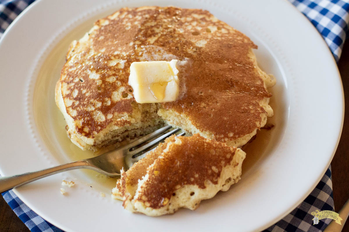 White Cornmeal Pancakes featuring Randall Anderson
