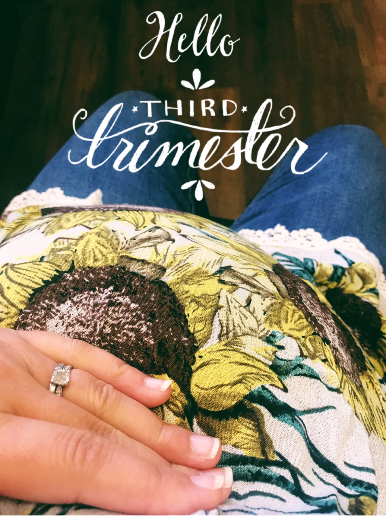 Pregnancy update hello third trimester for Gardening 3rd trimester